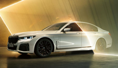 The Big Luxurious BMW 745e PHEV Has New Gifts