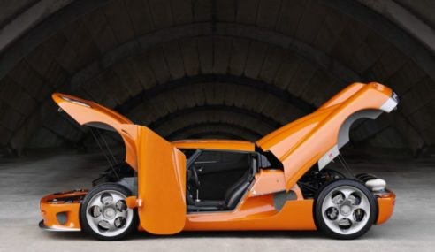 Koenigsegg CCR Plans To Be The Fastest Car In The World